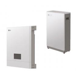 Set 6.4 kWh LG Electronics Energiespeicher mit Hybridwechselrichter und ABB-Energiezaehler