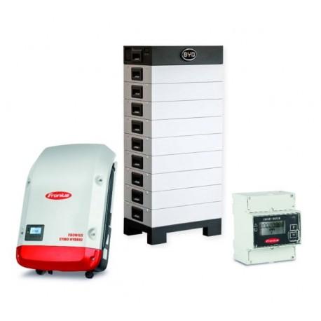 6.4 kWh BYD-Energiespeicher und Fronius-Symo-Hybrid-Wechselrichter
